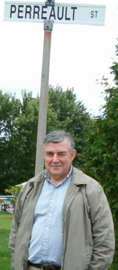 André Clément Perreault in Van Kleek Hill, Ontario 2007 - photo by Susan Valiquette