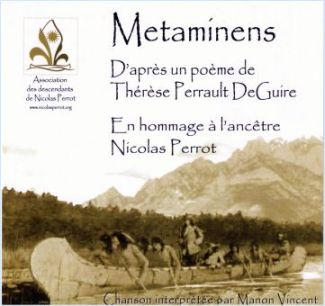 label of the Metaminens CD