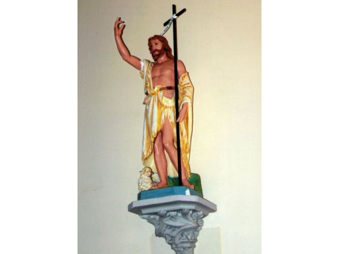 statue of John-the-Baptist