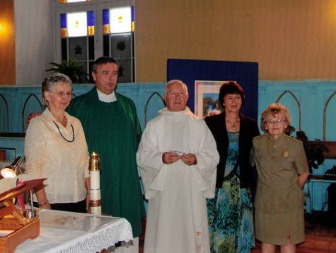 Father serge perreault and celebrants