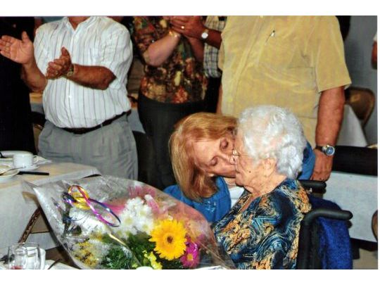 99th birthday of germaine perreault-dupras